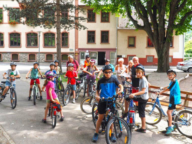 Ferienaktion 2016 - Fahrradtour